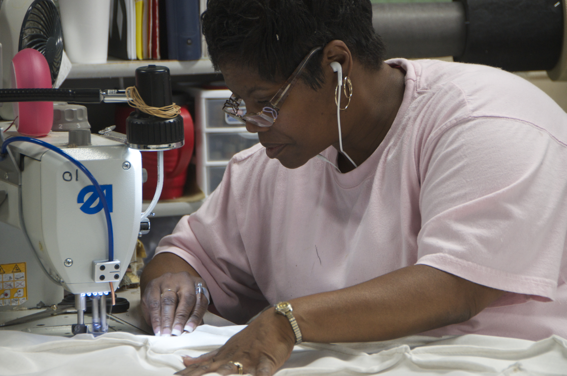 Learn New Skills Every Day Sewing For Some Of The Finest Furniture In  America.